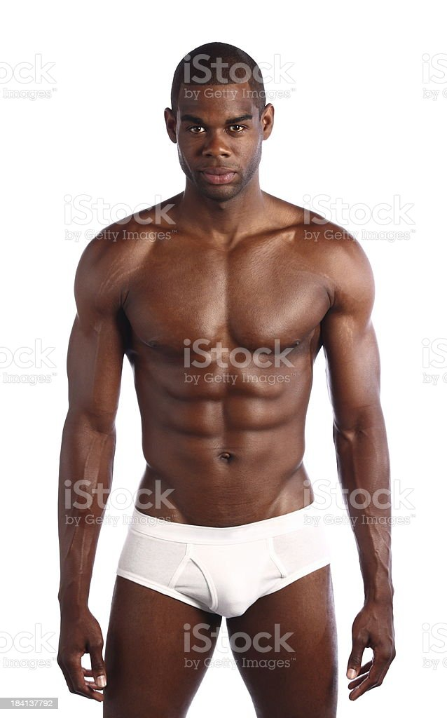 Black free gay man naked