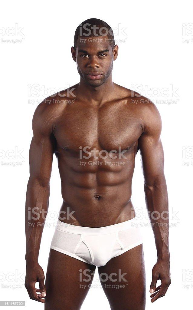 Afryki amerykański mężczyzna Buff – zdjęcie