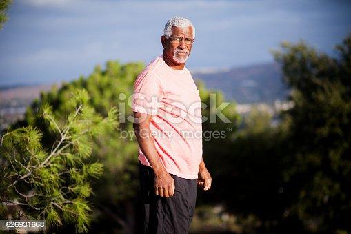 istock African American Man Outdoor Portrait 626931668