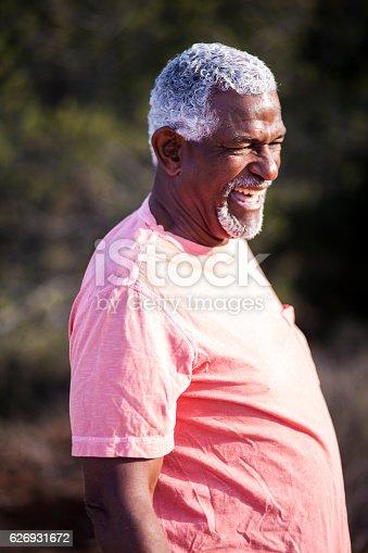 istock African American Man Outdoor Portrait 626931672