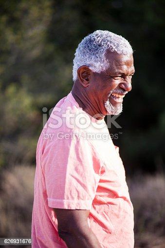 istock African American Man Outdoor Portrait 626931676
