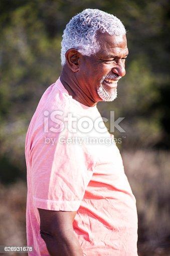 istock African American Man Outdoor Portrait 626931678