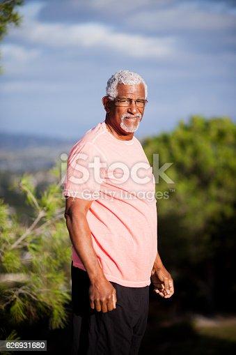 istock African American Man Outdoor Portrait 626931680