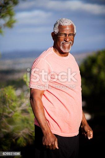 istock African American Man Outdoor Portrait 626931696