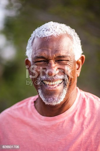 istock African American Man Outdoor Portrait 626931706