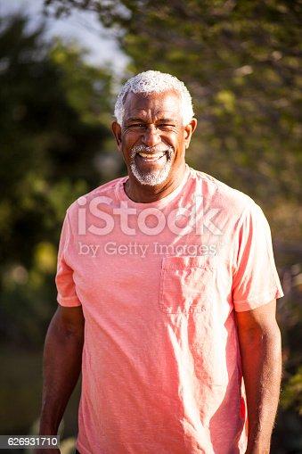istock African American Man Outdoor Portrait 626931710