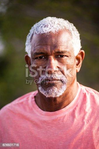 626367626 istock photo African American Man Outdoor Portrait 626931716