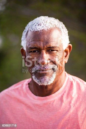 istock African American Man Outdoor Portrait 626931718