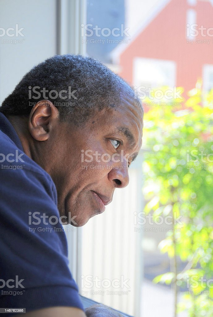 African american man stock photo