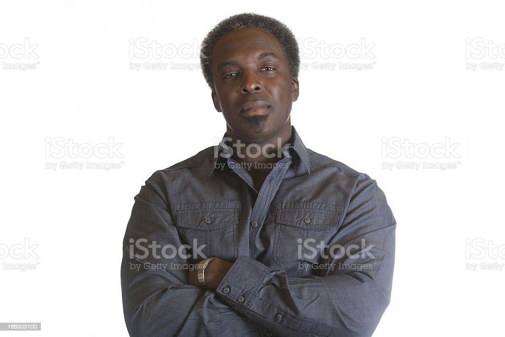 african american man - foto de stock