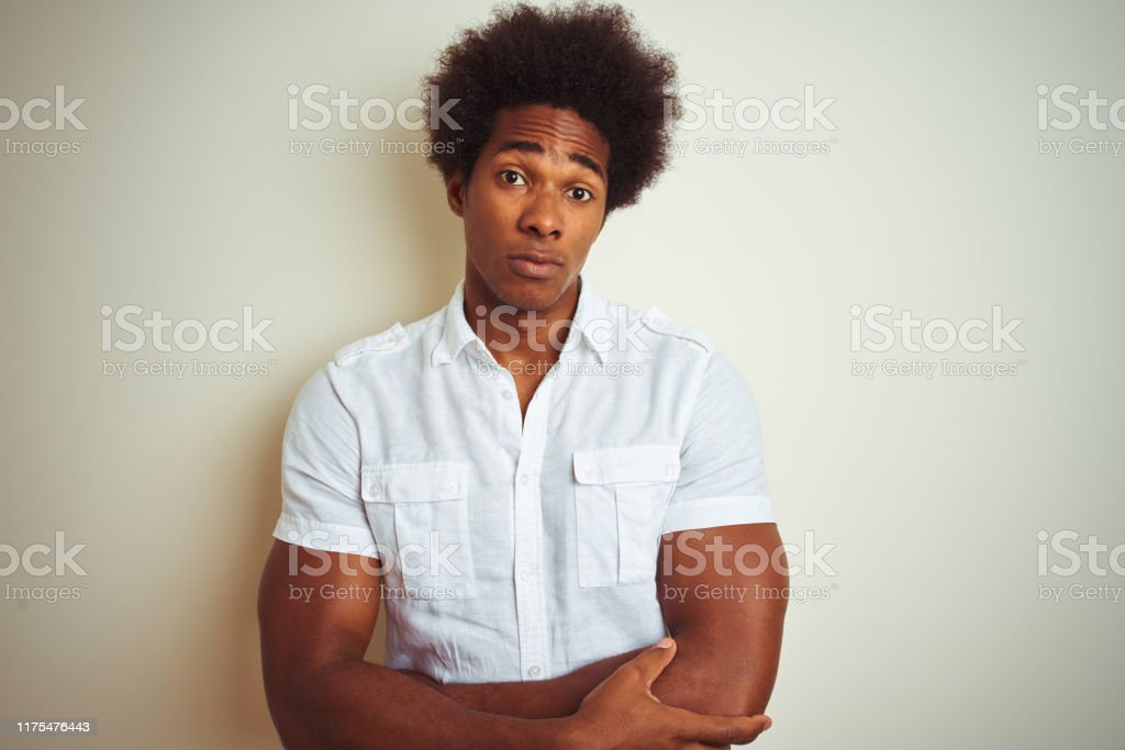 With an afro white person How Does
