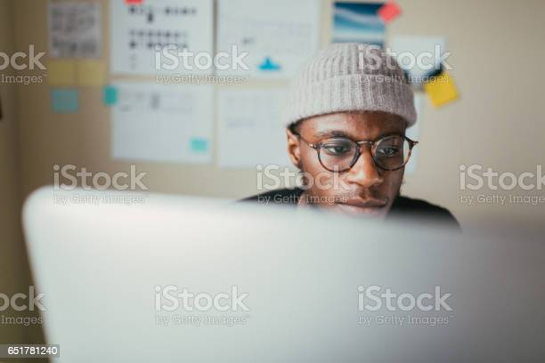 African american man working on his computer picture id651781240?b=1&k=6&m=651781240&s=612x612&h=mktgsgkwtrabcv cdgwcgqixwv6vah4vnd8d650vzrw=