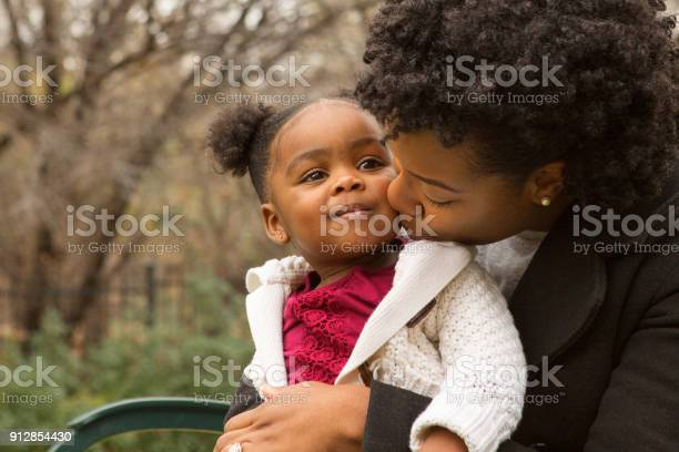 African American Mother And Her Daugher Stock Photo - Download Image Now