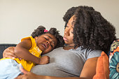 istock African American mother disciplining parenting her young child. 1198951999