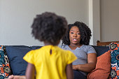 istock African American mother parenting her daughter. 1181132730