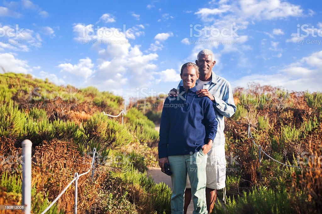 African American Senior Couple royalty-free stock photo