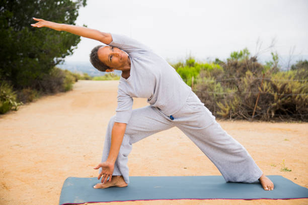 Top 60 Bikram Yoga Stock Photos Pictures And Images Istock