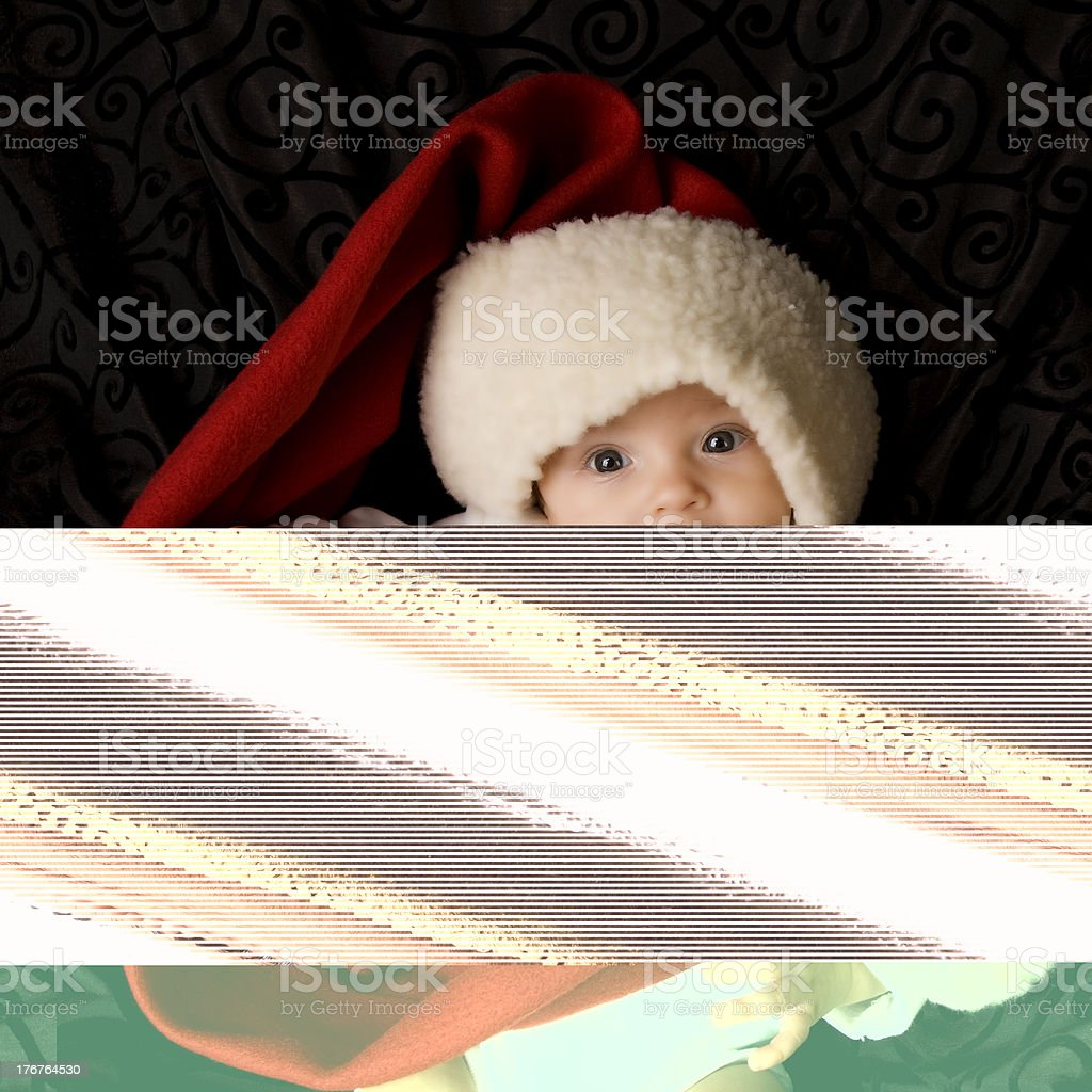 African American Toddler Girl with a Big Smile royalty-free stock photo