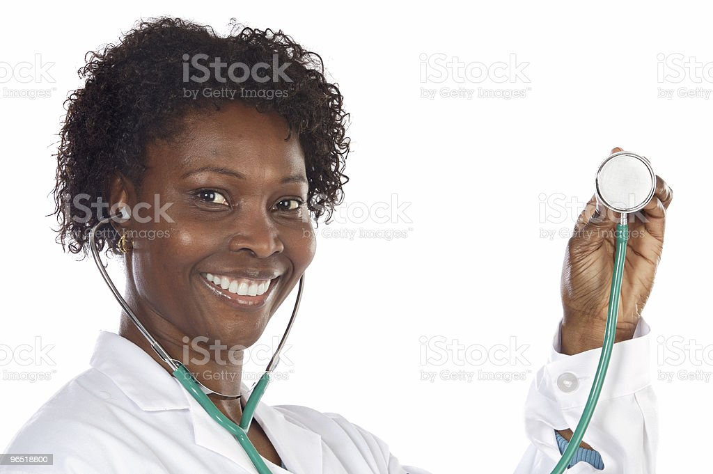 African american woman doctor royalty-free stock photo
