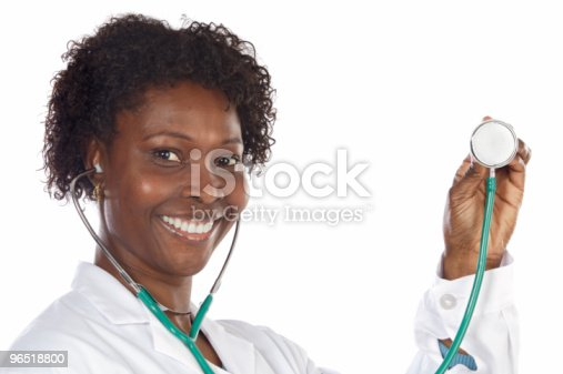 African American Woman Doctor Stock Photo & More Pictures of Adult