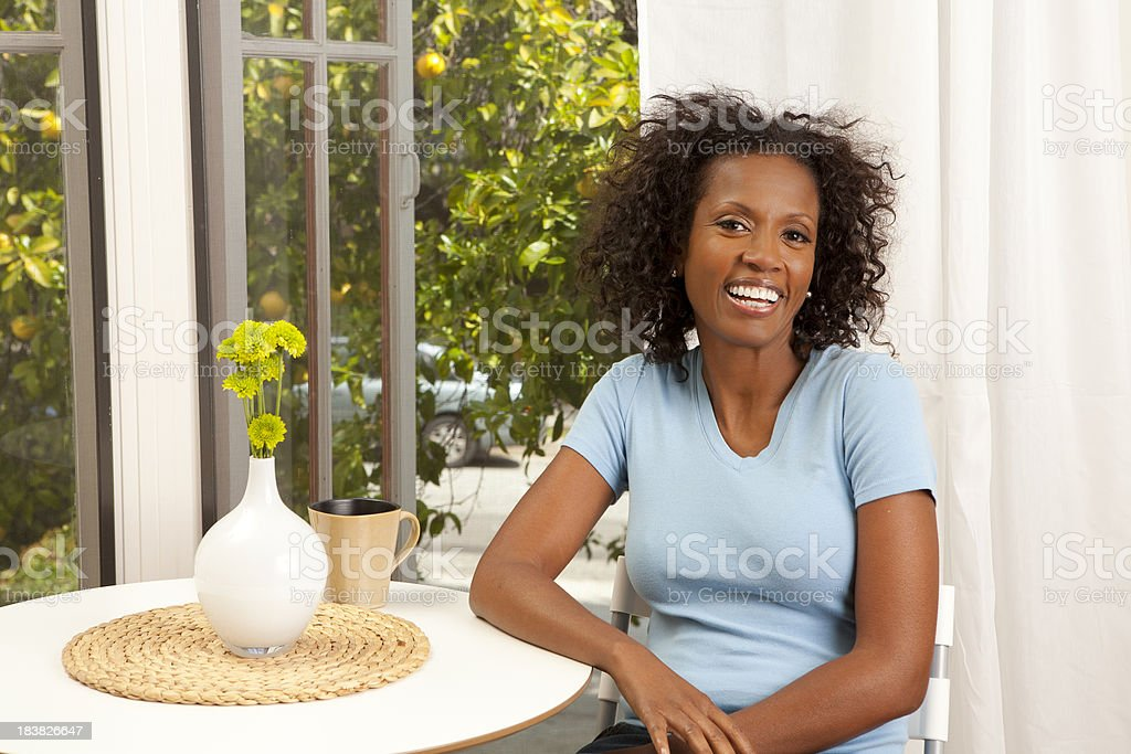Afrikanische amerikanische Frau – Foto