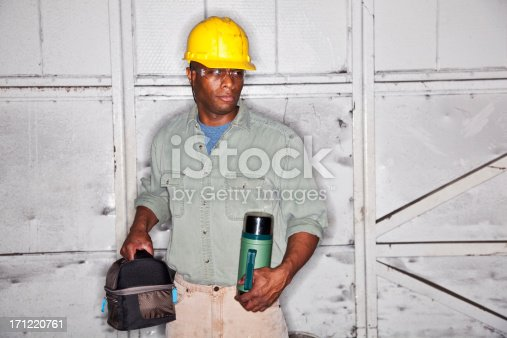 istock African American worker with lunchbox 171220761