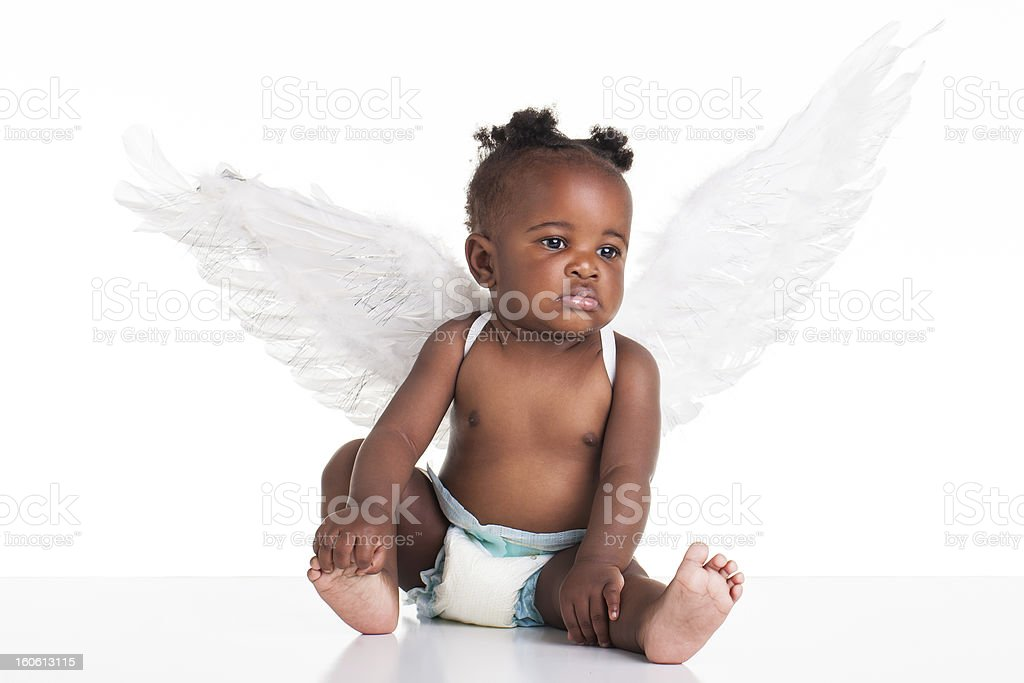 African angel royalty-free stock photo