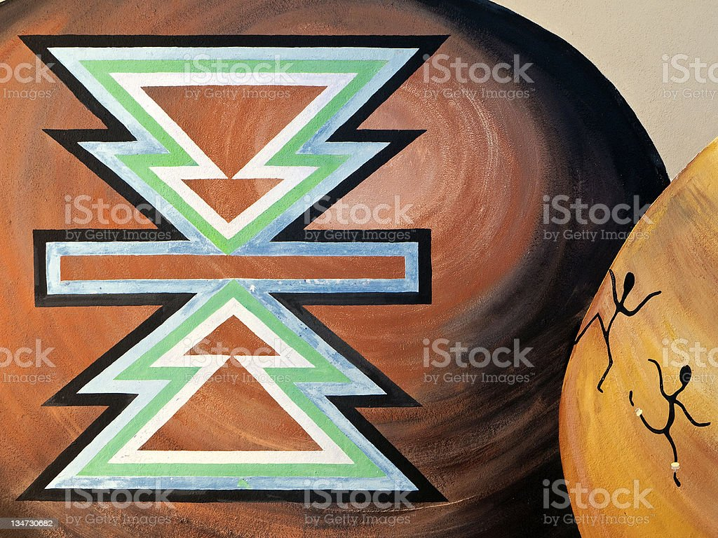 African Art royalty-free stock photo