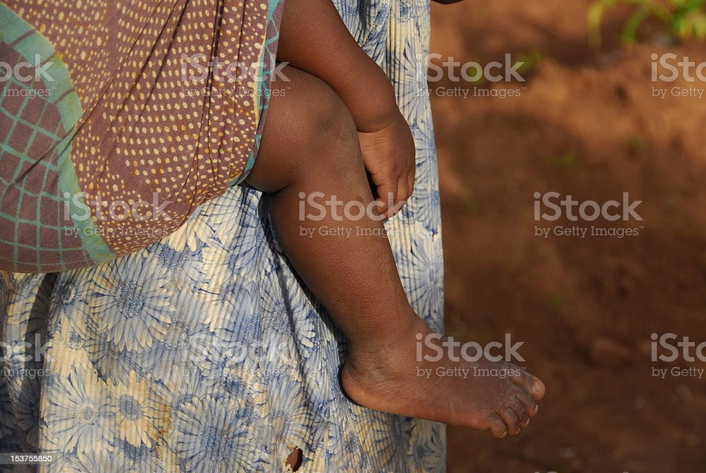 african baby stock photo