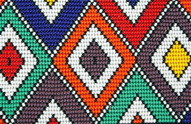 african beads - african culture stock photos and pictures