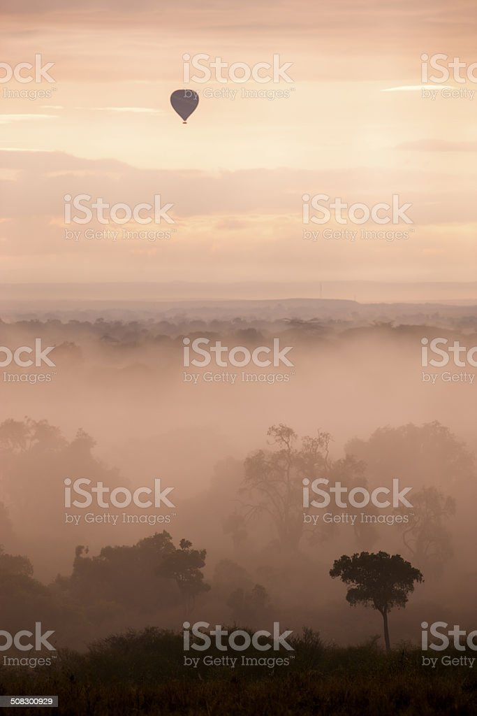 African beauty from the sky stock photo