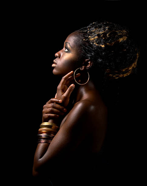 african beauty - african culture stock photos and pictures