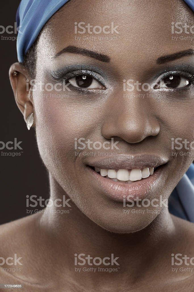 Belleza africano foto de stock libre de derechos
