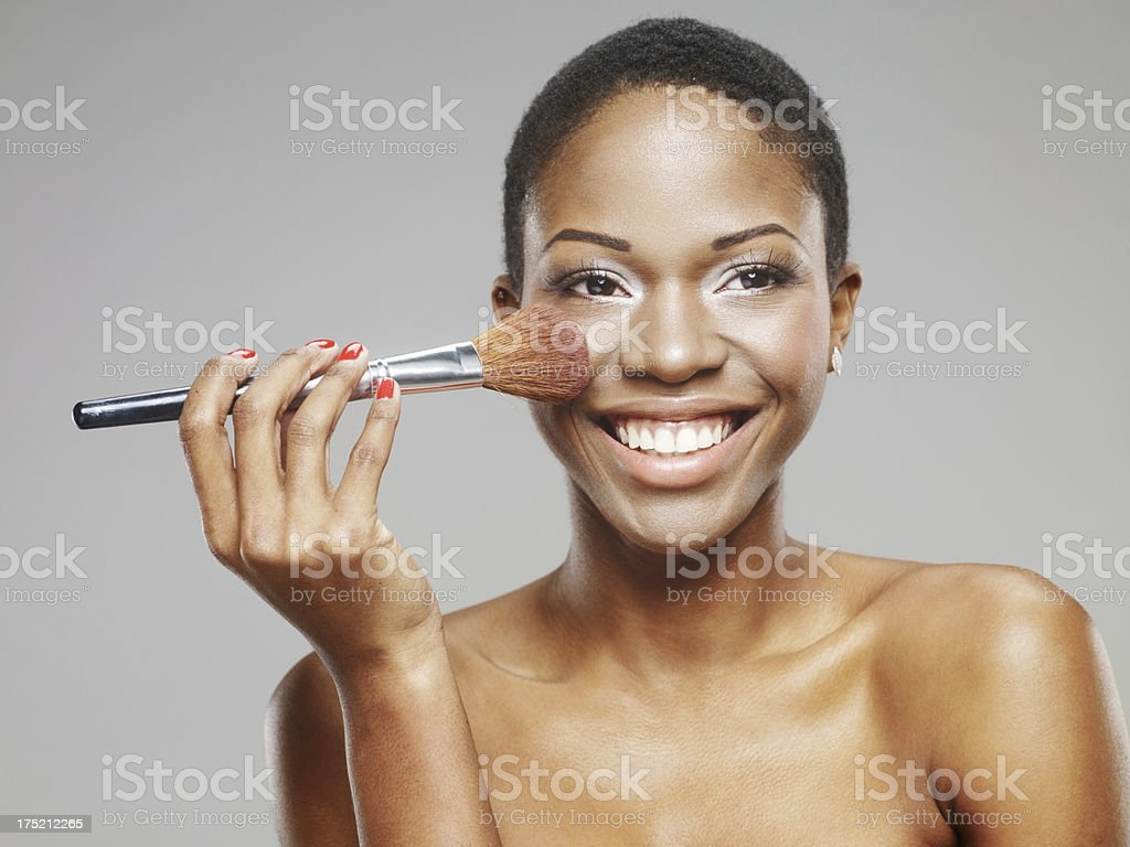 African Beauty royalty-free stock photo