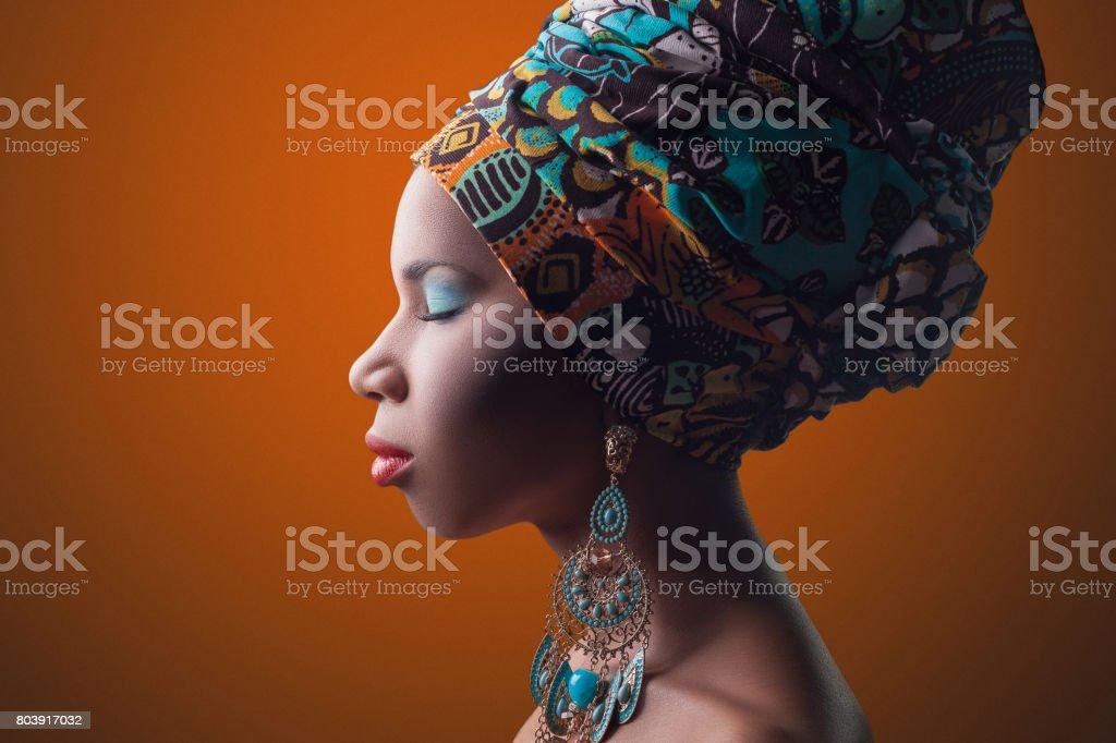 Afrikanische Schönheit. – Foto