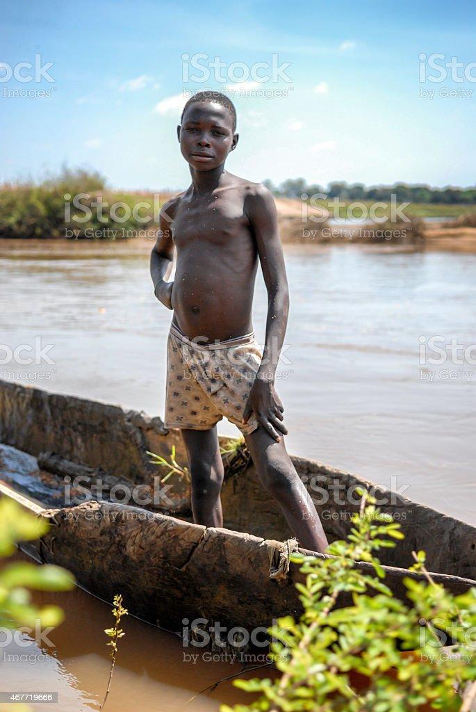 Afrikanischen Jungen – Foto