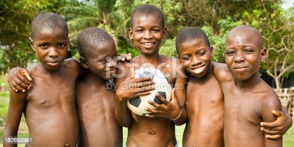 Nude african boys