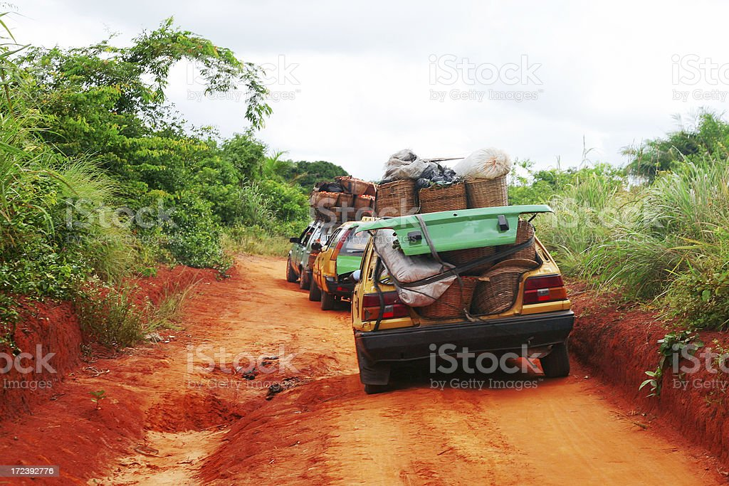 african bush taxi royalty-free stock photo