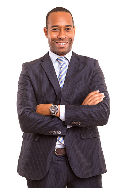 African business man stock photo