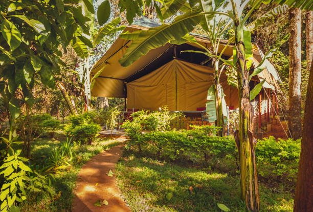 Camp d'Afrique à Nairobi-Kenya - Photo