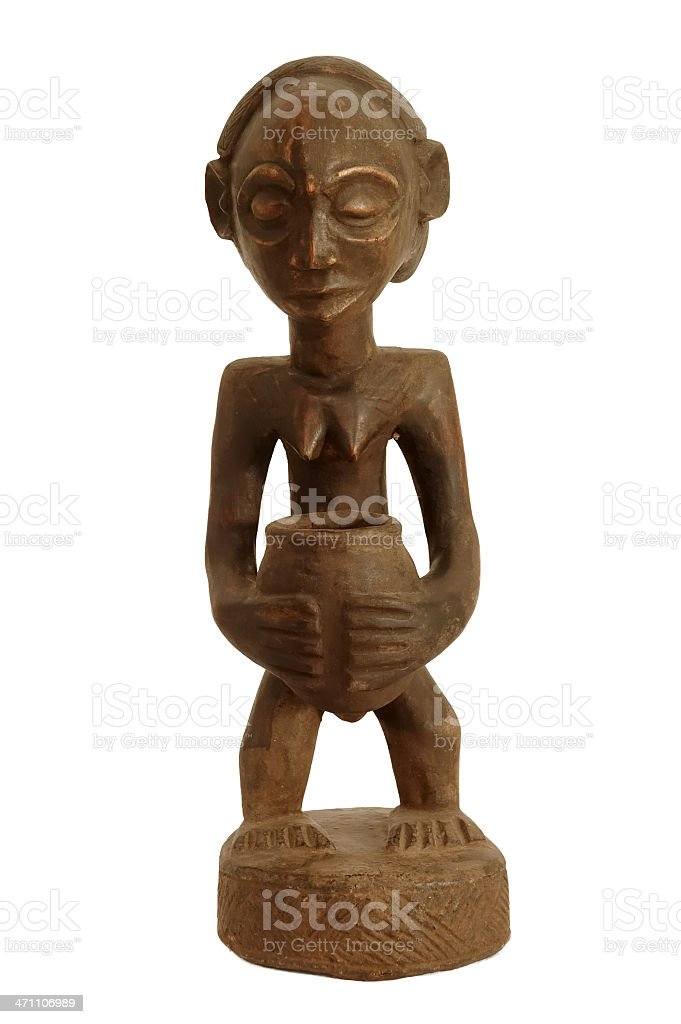 African carving royalty-free stock photo