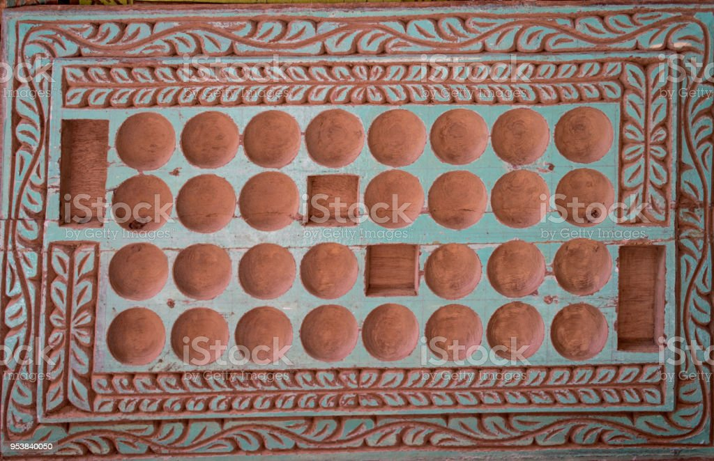 African Ceramic Tiles Zanzibar Tanzania Stock Photo