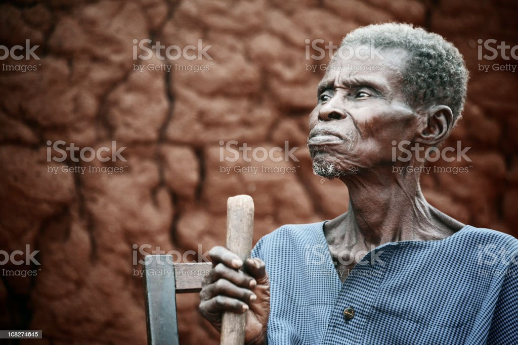 african chief royalty-free stock photo