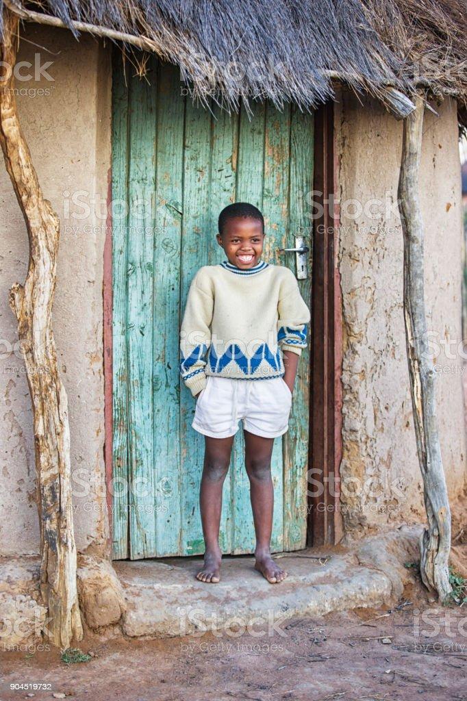 Afrikanische Kind – Foto