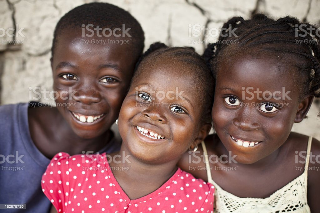 African Children royalty-free stock photo