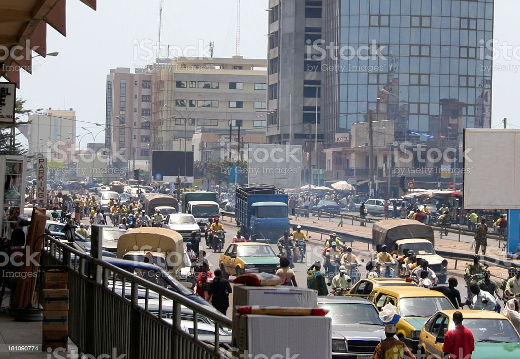 african city life royalty-free stock photo