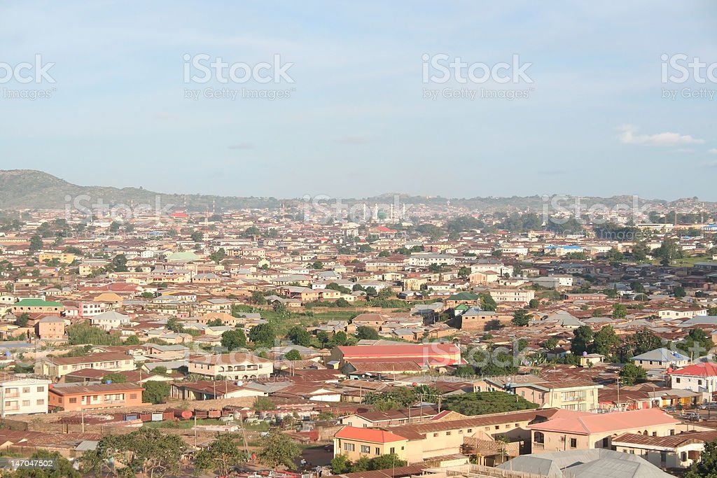 African City - Royalty-free Africa Stock Photo