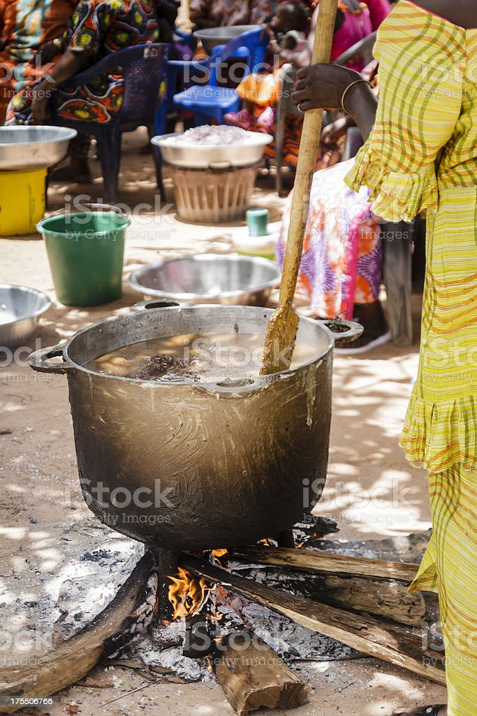 African cuisine stock photo
