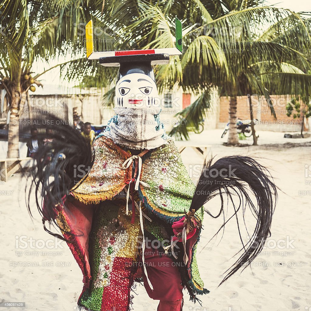 African dancers. royalty-free stock photo