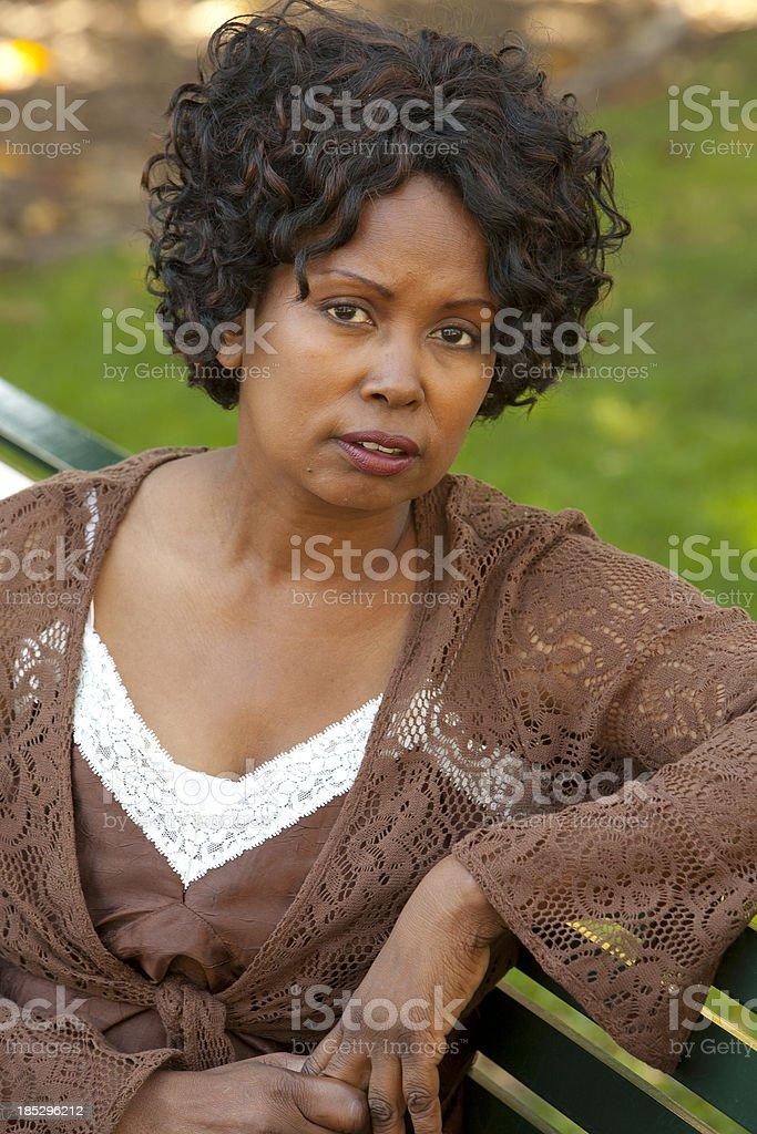 Afrikanischer Herkunft Frau – Foto